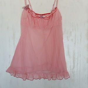 J lo Jennifer Lopez chemise lingerie size M/L.